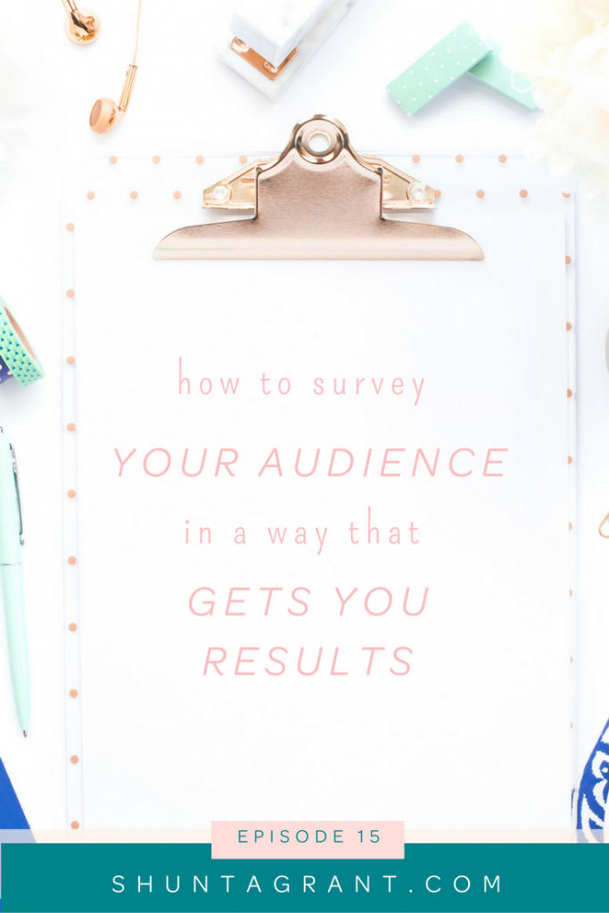surveying your audience