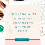 How (and why) to Create Your Automated Welcome Email