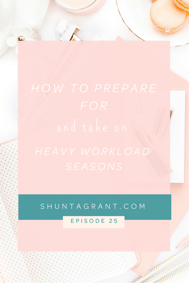 how to handle busy seasons
