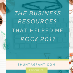 My Favorite Tools + Resources for Business in 2017