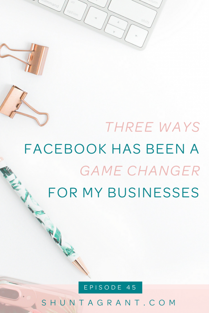 three ways facebook helped me grow my business