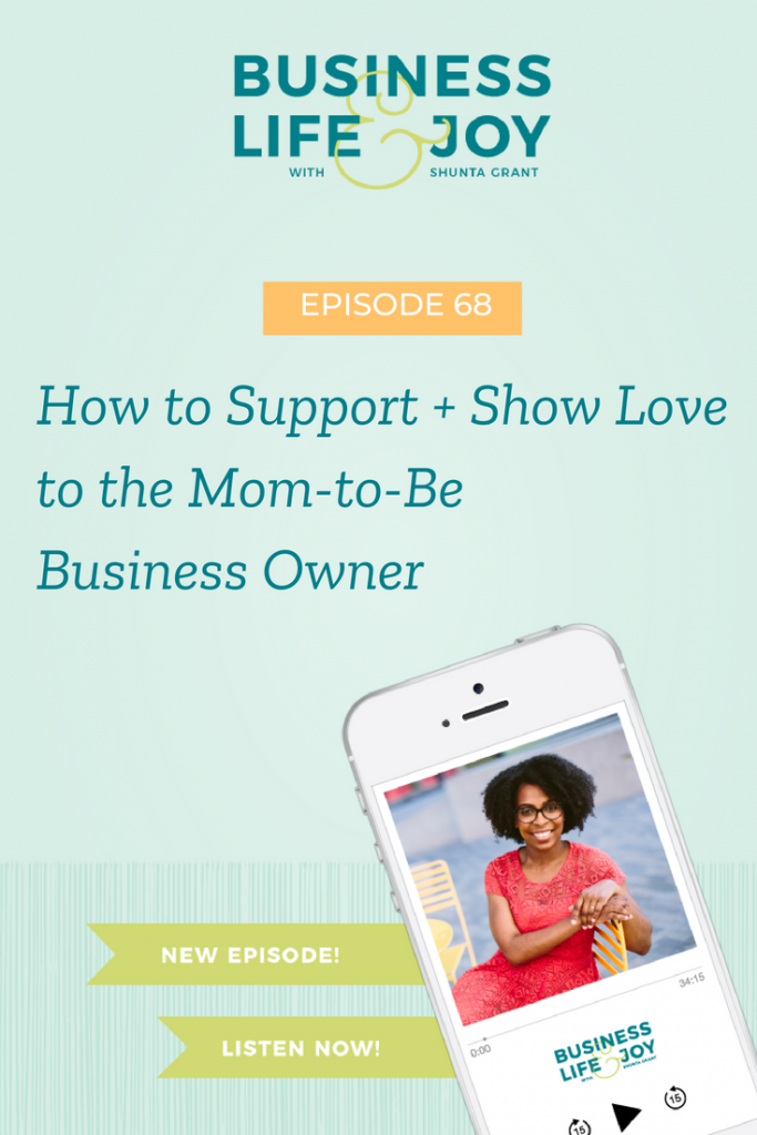 supporting a mom-to-be