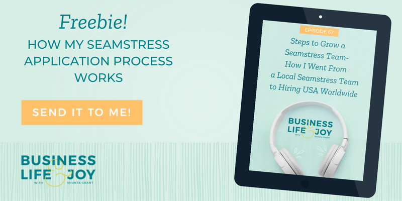 Steps to Grow a Seamstress Team-How I Went From a Local
